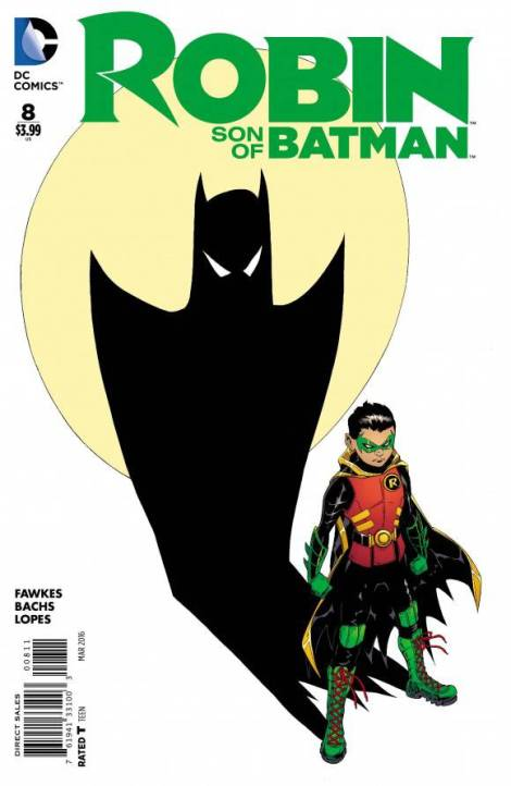 Robin- Son of Batman #8